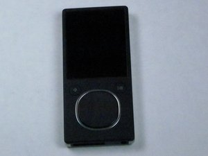 Zune Flash 2nd Generation Repair