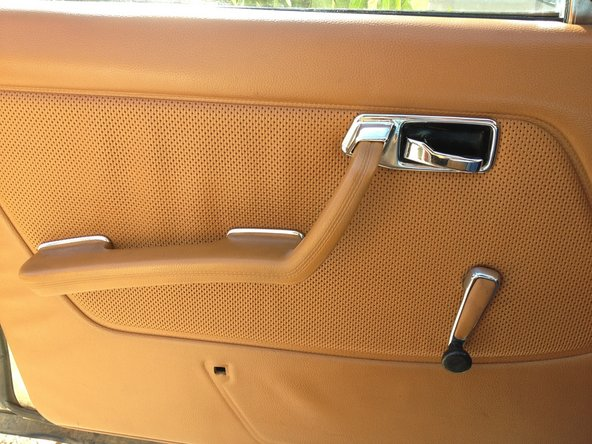 Drivers Extended Armrest