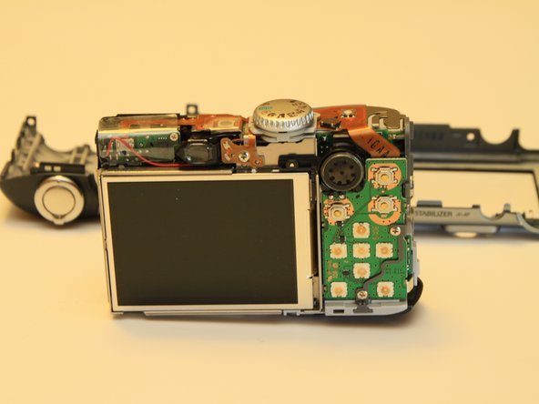 Canon PowerShot A1000 IS LCD Screen Replacement