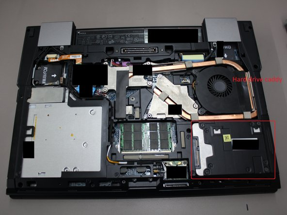 Remove Hard drive assembly.