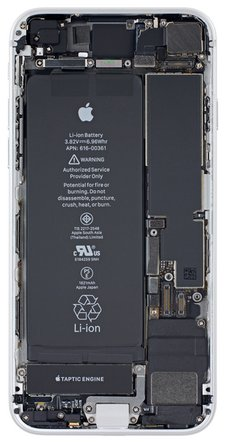 iPhone 8 internals wallpaper