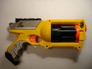 Nerf N-Strike Maverick Teardown