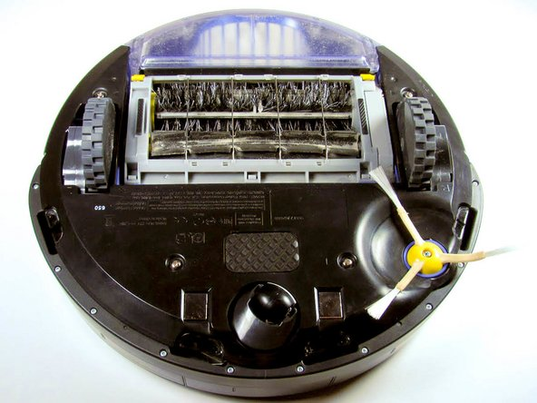 iRobot Roomba 650 Side Brush and Bottom Panel Replacement