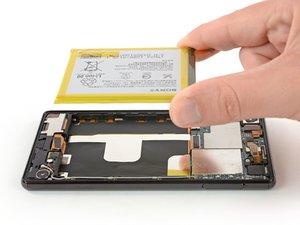 Remplacement de la batterie du Sony Xperia Z4