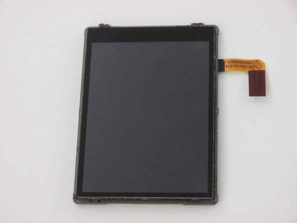 Once you have located the LCD/touchscreen, you can remove it by pulling it off of the front panel. No tools are necessary.