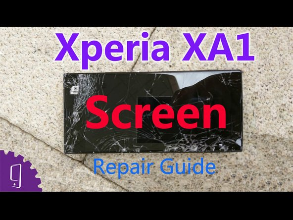 Sony Xperia  XA1 touch screen Replacement