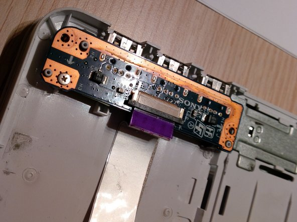 now we will remove the last cable, before removing the mainboard or motherboard.