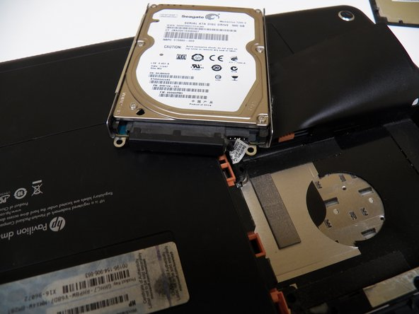 Remove hard-drive and replace