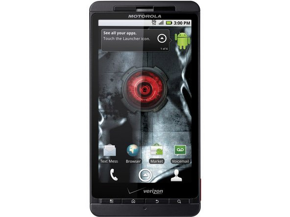 Motorola Droid X Screen & Digitizer Replacement