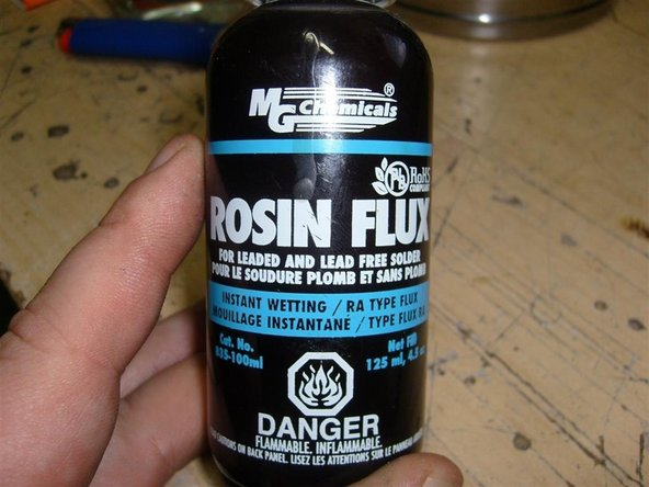 Rosin flux Main Image