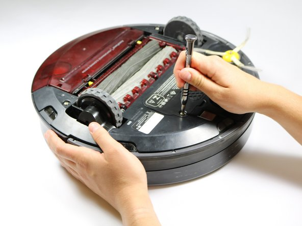 Remove the battery panel and 10mm screws with a Phillips #2 driver and then take the battery out of the device.