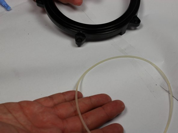 If you happen to mix up the o-rings, note that this o-ring is thinner than the first.