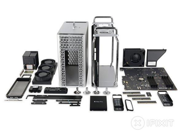 El nuevo Mac Pro es un milagro de Navidad: bello, increíblemente bien montado, y un maestro de la capacidad de reparación.