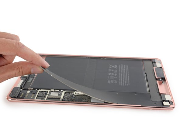 Image 1/3: We saw this same kind of shielding in the larger [https://www.ifixit.com/Teardown/iPad+Pro+Teardown/52599#s115437|iPad Pro], but it didn't exist in the iPad Air line.
