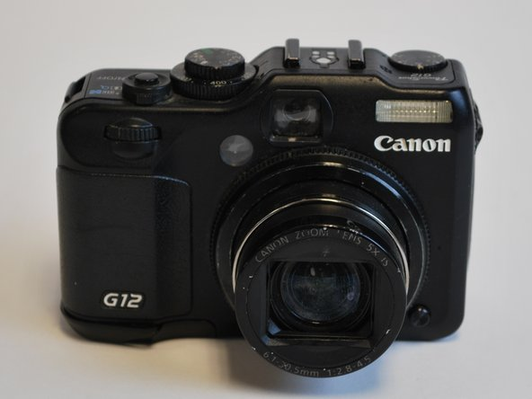canon powershot g12 repair ifixit. Black Bedroom Furniture Sets. Home Design Ideas