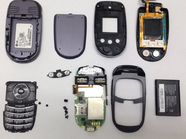 You have now performed a complete teardown of the LG VX8350.