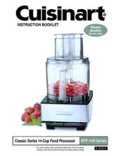 Cuisinart DFP-14BCN User Manual