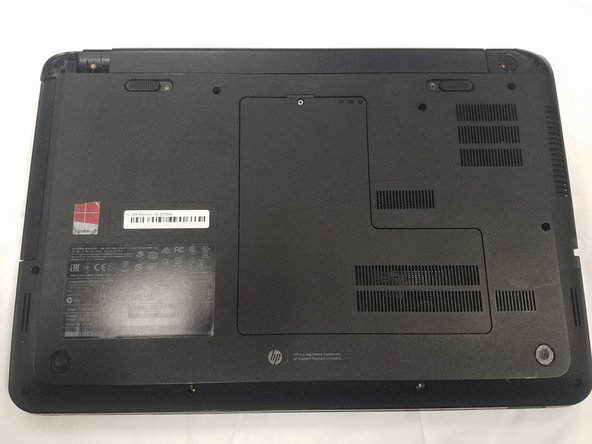 HP Pavilion 15-d035dx Front Panel Replacement