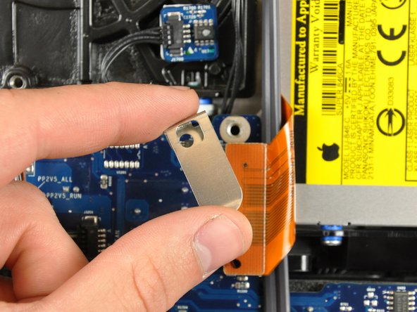 Remove the flex cable mounting bracket.