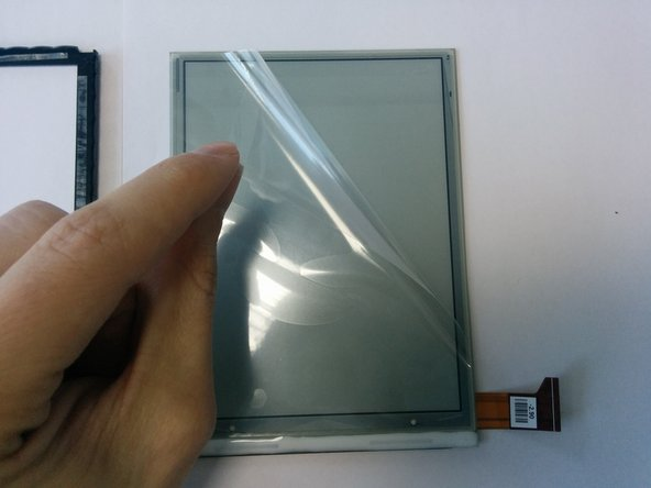 Remove protective film from the screen