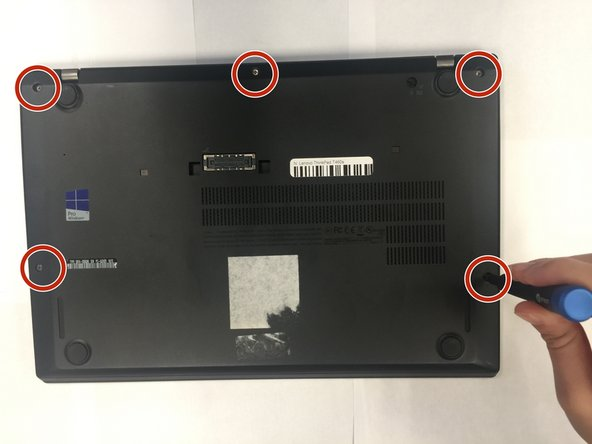 Lenovo ThinkPad T460s Battery Replacement