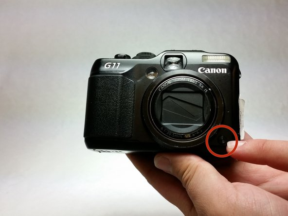 Canon PowerShot G11 Front Cover Replacement