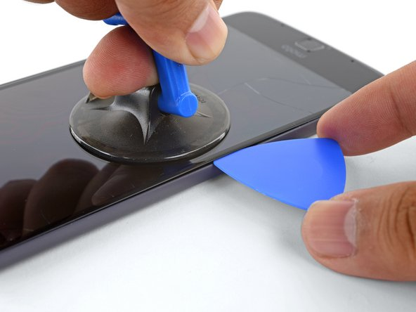 """Do not insert the pick more than 1/16"""" (1.5 mm). Over-inserting the pick may damage the OLED panel."""