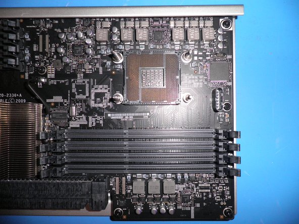CPU B of the processor Board.