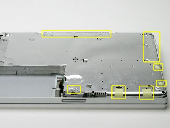 "iBook G3 14"" Bottom Shield Replacement"