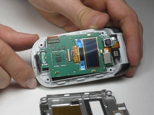 Motorola V325 Screen and External Display Disassembly