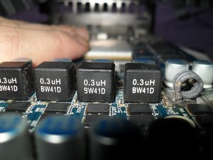 Burnt inductor and PCB on GTX560 Ti KFA2 Pci Express