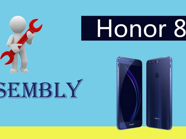 How to Reassemble Huawei Honor 8