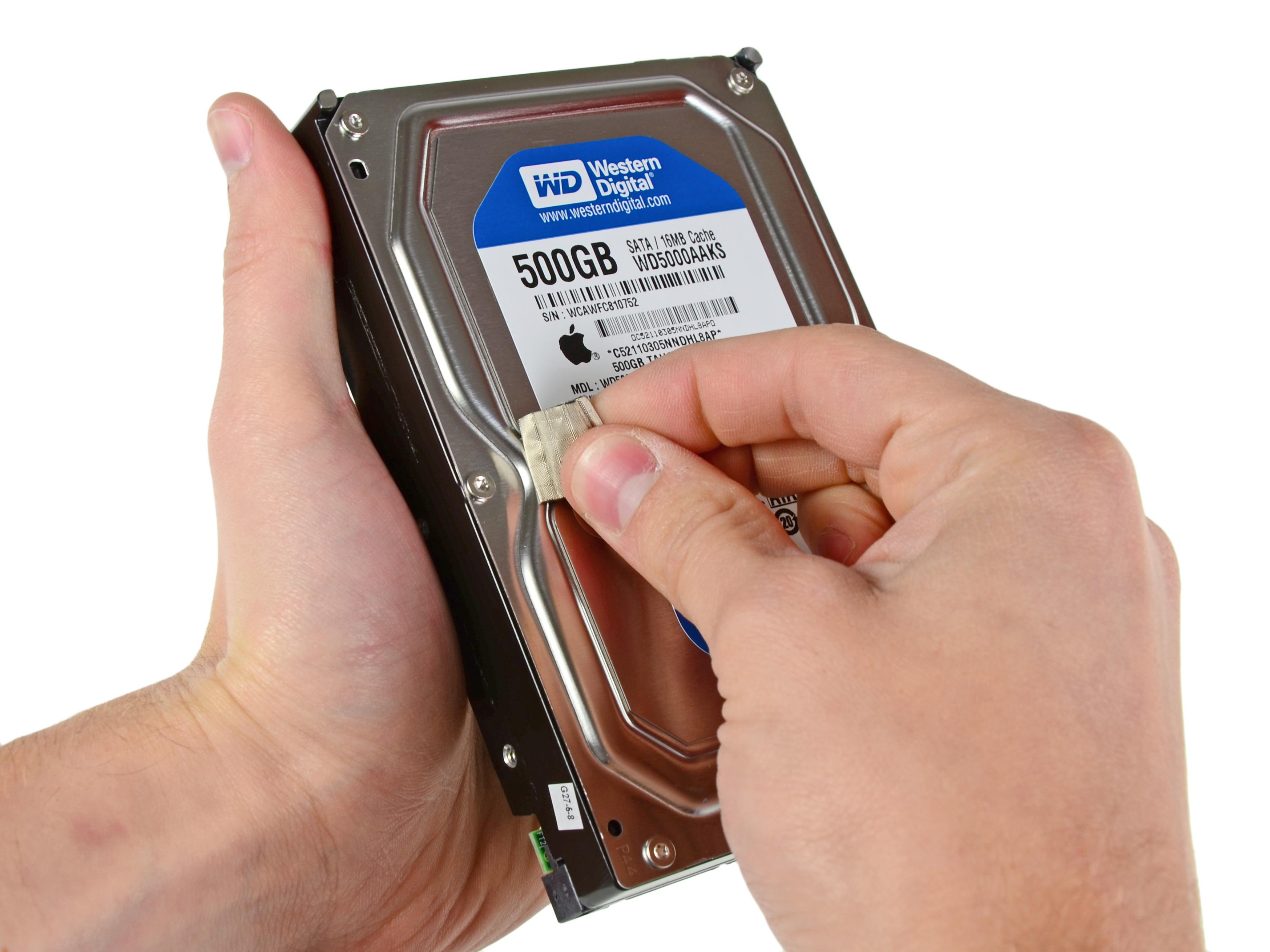"""Remplacement du SSD dans l'iMac Intel 21,5"""" EMC 2389 ..."""