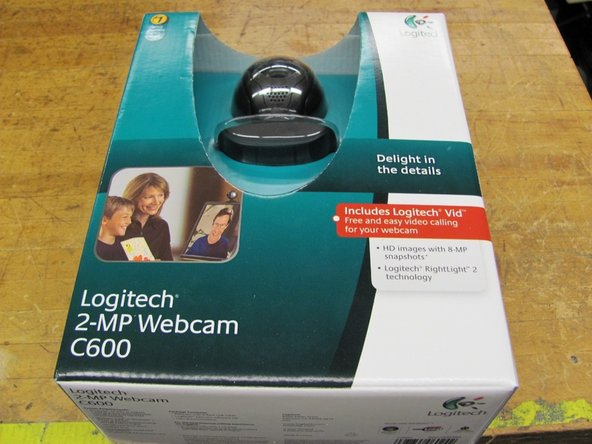 Buy a Logitech 2-MP Webcam C600, model number: 960-000395