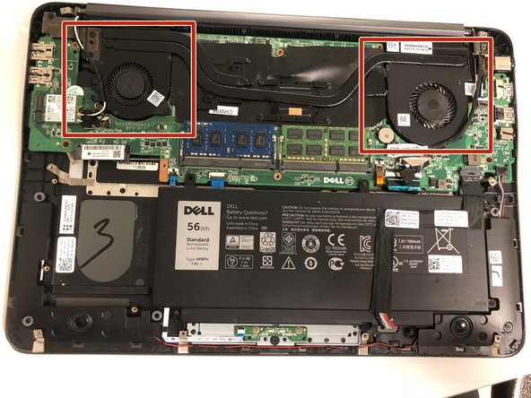 Dell Inspiron 15-7548 Fan Replacement