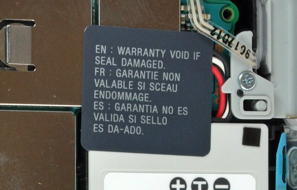 warranty-voiding sticker