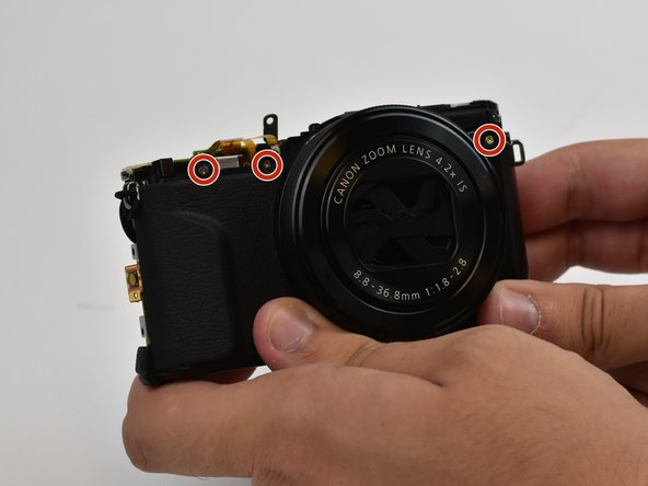 PowerShot G7 X Mark II Front Cover Replacement