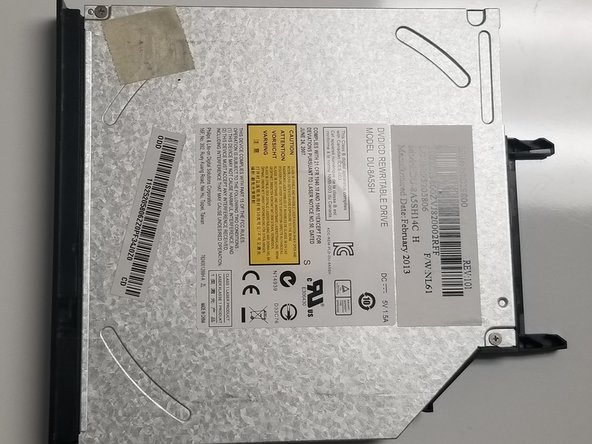 Lenovo IdeaPad Y400 Optical Drive Replacement