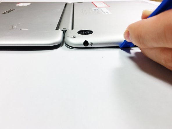 Once the palm rest has been separated from the bottom cover, pull it away from the screen, rather than away from yourself.