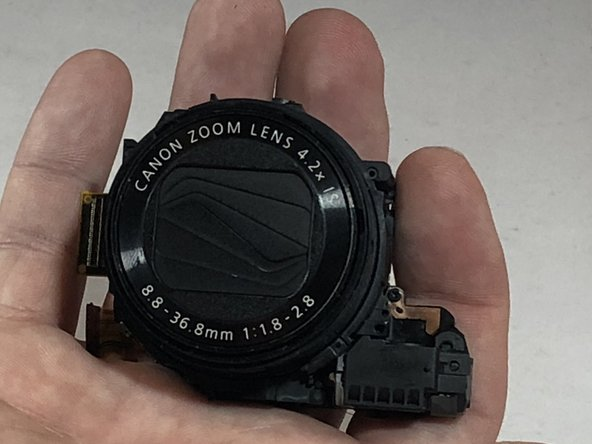 Canon PowerShot G7X Lens Replacement