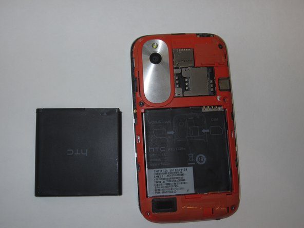 HTC Desire V Battery Replacement