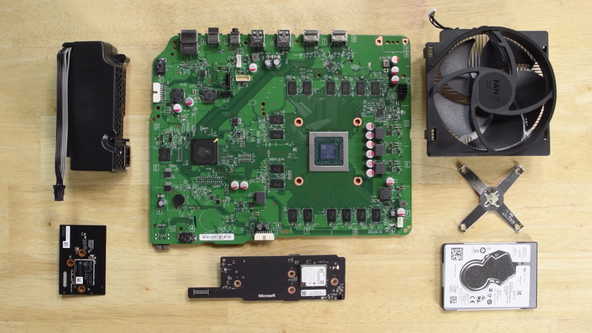 Microsoft Xbox One S teardown