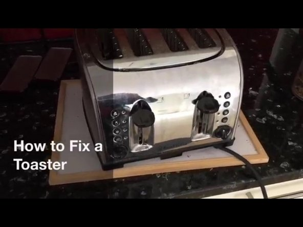 How to fix a blown heater element in a Toaster - iFixit Repair