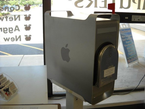 The Making of a Power Mac g5 Mailbox
