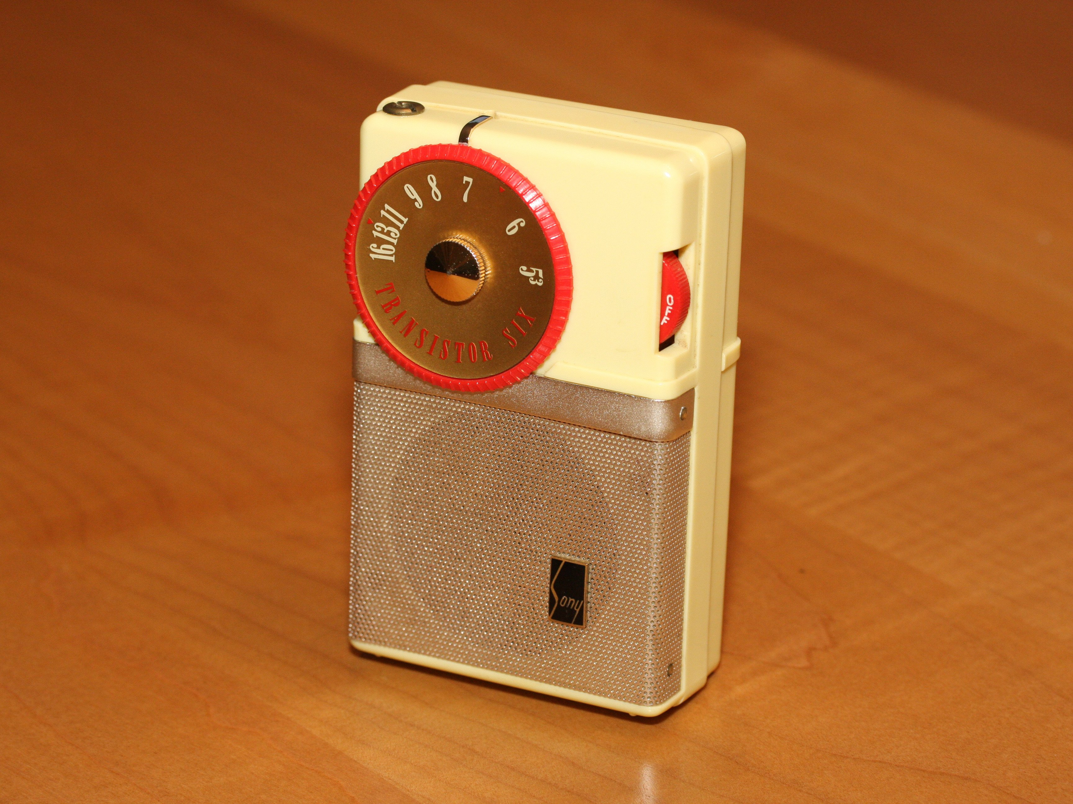 Sony Tr-63 Transistor Radio Teardown