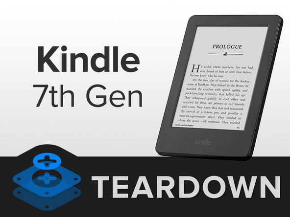 Image 1/2: Today's special guest, the '''[http://www.amazon.com/gp/product/B00I15SB16|Kindle 7th Generation]''' (now with a touch screen!):