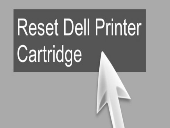 Addition the refilled inkjet cartridge in your Dell printer and turn off the printer for no less than five seconds.