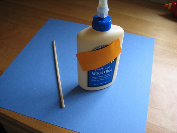 Image 1/1: - Glue (Super glue, Wood Glue or Tacky glue)