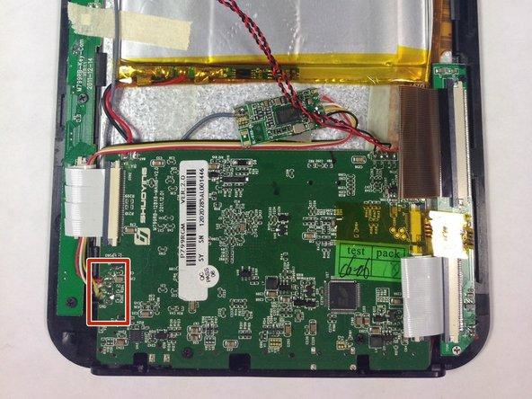 Desolder the Wi-Fi Adaptor