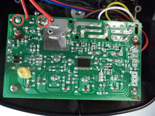 If they seem damaged, resolder the wires to the board.